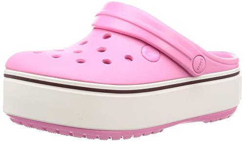 crocs Girls Crocband Lightweight Platform Summer Clogs