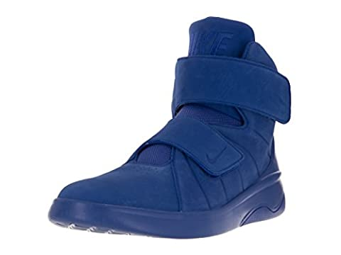 Nike Men's Marxman Prm Basketball Shoes, Azul (Racer Blue / Racer Blue-Rcr Blue), 8 UK