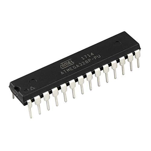 MachinYeseed Professioneller 8 Bit Mikrocontroller Mikrocontroller 28 Pins ATmega328P-PU Prozessor 1.8V bis 5V Hubschrauber Zubehör (1)