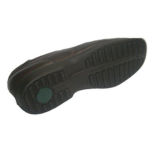 Schuh flachen Gummireifen mit hoher Blatt Pitillos braun Braun
