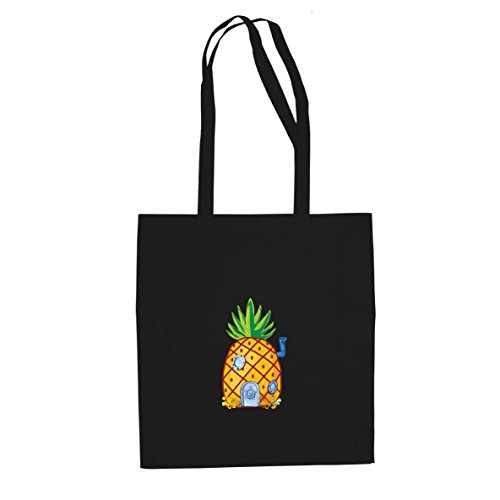 - Stofftasche / Beutel, Farbe: schwarz (Spongebob Kostüme Frauen)