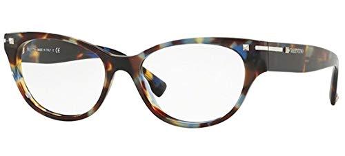 Valentino Brillen VA 3020 BLUE HAVANA Damenbrillen