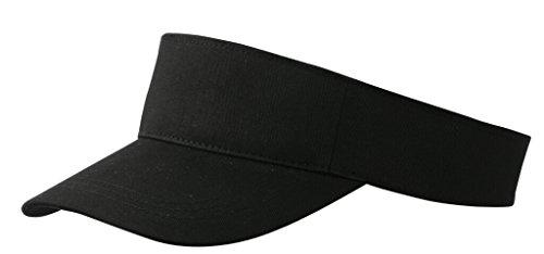Myrtle Beach Visiere en 100 % coton twill (black)
