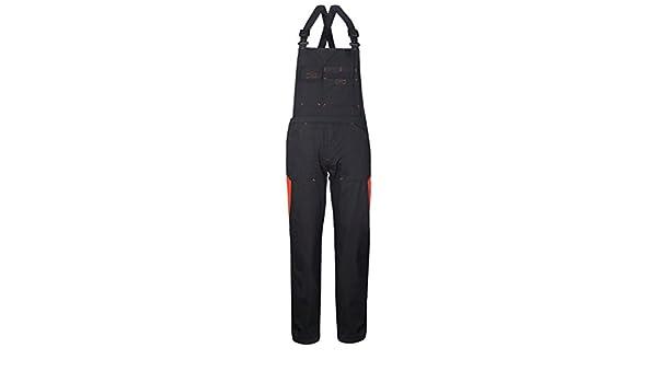 137e05519ad46 SILVERSTONE Salopette Tecnica da Lavoro in Nero E Rifiniture Arancioni  A50129  Amazon.it  Abbigliamento