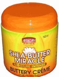 Ap Shea Butter Miracle Buttery Creme 6oz Jar by AFRICAN PRIDE