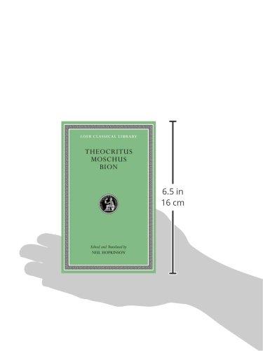 Theocritus. Moschus. Bion (Loeb Classical Library)