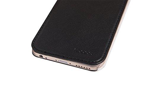 Spada Booklet Case Urban Schutzhülle (für Apple iPhone 7) Schwarz Schwarz