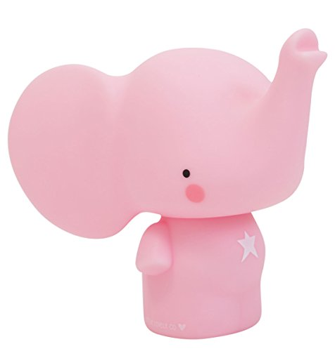 A Little Lovely Company MBELPI04 - Mini hucha en forma de elefante, color rosa