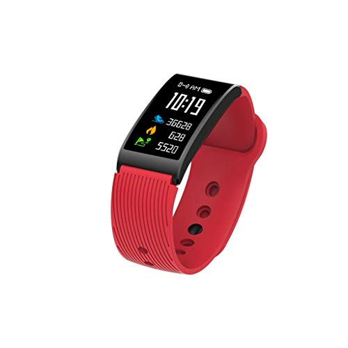 TianranRT Sport Fitness Herz Rate Monitor Smart ArmbandWatch Armband Für IOS/Andorid (Rot)