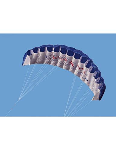 ZSYF Drachen Kite Professioneller Dual Line Lenkdrachen 1.4M Power Soft Kite Mit Griff 30M Line Outdoor Sports Für Kinder Erwachsene