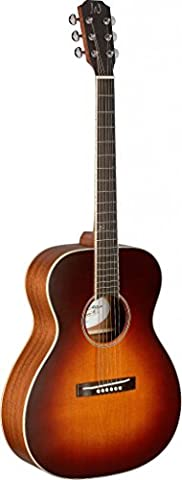 James Neligan EZR Om Cutaway Acoustic Orchestra Guitar Solid Cedar Sunburst