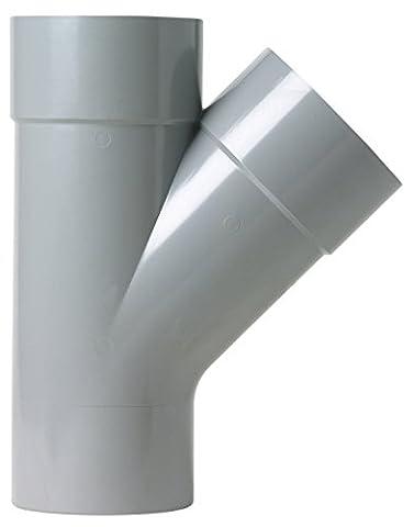 Girpi - Culotte d'évacuation à 45° mâle/femelle Ø 125 mm