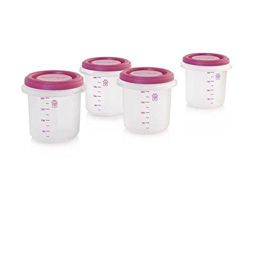 Miniland 89142, Contenitori Ermetici senza BPA, Ideali per il Latte Materno