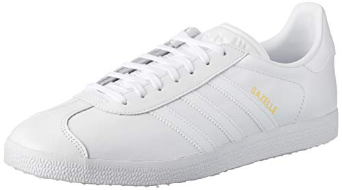 Adidas Unisex-Erwachsene Gazelle Sneakers, Weiß