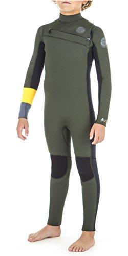 Rip Curl 2018/19 Junior Aggrolite 3/2mm Chest Zip Wetsuit KHAKI WSM8KB Junior Wetsuit Size - 14
