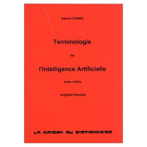 Terminologie de l'intelligence artificielle