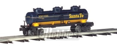 Bachmann Williams BAC47105 O Santa Fe 3-D-me Tank Car