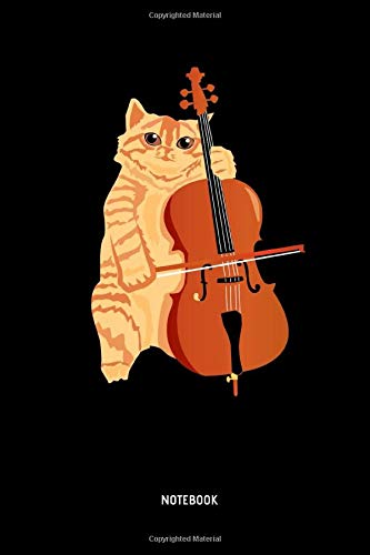 Notebook: Lined Cat Notebook / Journal with Cello. Great Cat Accessories & Novelty Gift Idea for all Cat Lover. -