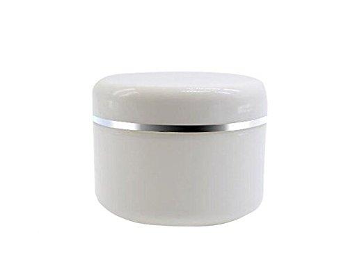 6 PCS En Plastique Cosmétique Crème Visage Bouteilles Avec Couvercle En Dôme De Maquillage Conteneurs De Stockage Baume À Lèvres Titulaire Organisateur Cas Pot (250G)