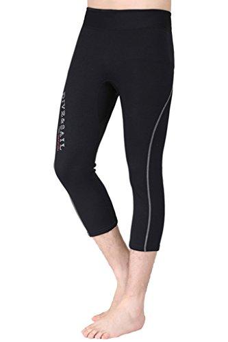 cokar Sport Pantaloni da bagno da 1.5mm immersioni Hose protezione solare Sport acquatici Warm Nuoto Pantaloni Grau