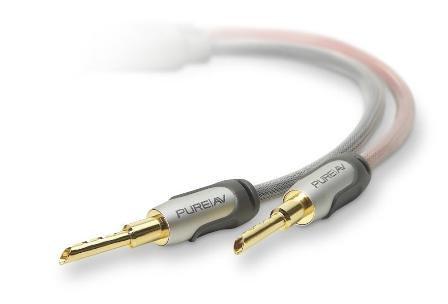 Belkin PureAV Leistungsstarke Lautsprecherkabel aus der Silberserie 4,9 m