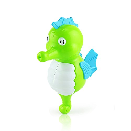 pielzeug für Kinder Baby Kleinkinder Pädagogisches Uhrwerk Tier Spielzeug Party Geburtstag Geschenke (Gelegentliche Farbe) Seepferdchen 1 STÜCK ()