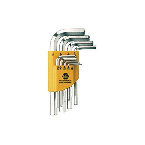 Hafu esagonale Set di chiavi a brugola pollici clip, misura 0.05-3/8pollici, 13pezzi, 1pezzo, 238-238-52 - Chiave Esagonale 13 Pezzo