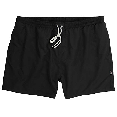 ADAMO Jamaica - Bañador Corto para Hombre Tallas hasta 12 XL, Color Negro Negro 7XL