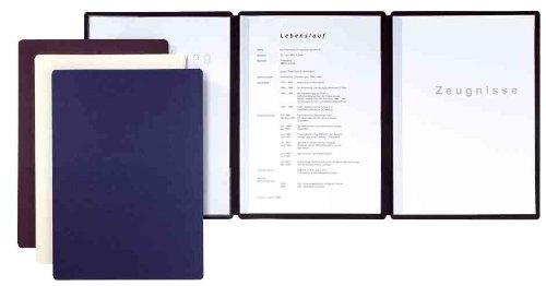 Pagna Bewerbungsmappe Premium Edition Straight 3-teilig, aus hochwertigem Premium-Karton