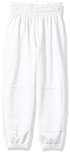 Wilson Youth Basic Classic Fit Baseball Pant, White, Small