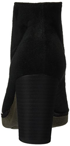 Botas Curtas black 55 Gabor Sapatos 750 17 Mulheres Preto xwpIq41XnU