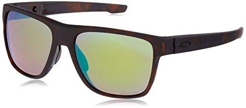 Oakley Herren Crossrange XL 936010 58 Sonnenbrille, Braun (Matte Rootbeer Tortoise/Prizmshallowh2Opolarized),