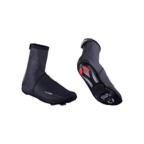 BBB Cycling Fahrrad, Mountainbike Überschuhe Waterflex Wasserdichte Überschuhe Für Rennradfahrer, BWS-03N, Schwarz, 45/46