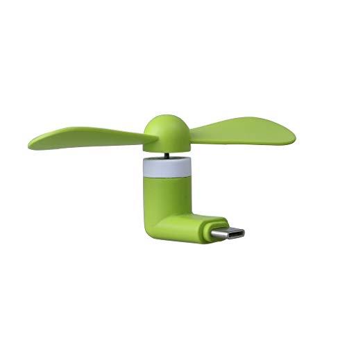 ONX3 Grüner Typ C Anschluss Tragbare Tasche Mini Handy Lüfter/Kühlventilator Für Huawei nova 5i Pro