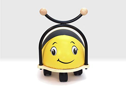 Beehive Toys Ride on Bumblebee Balance Bug with foam seat and wipe clean cover