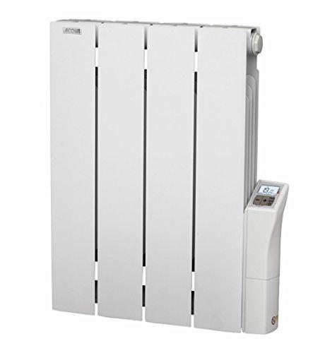 Acova Cotona LCD Radiateur électrique aluminium inertie fluide 750 W