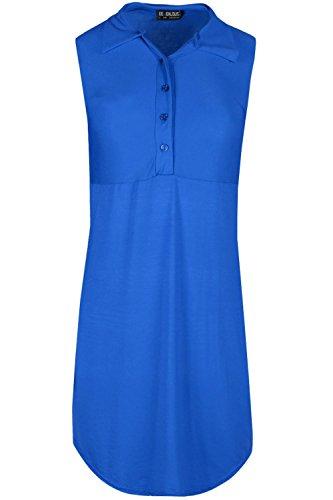 Be Jealous - Robe - Sans Manche - Femme * taille unique Bleu Marine