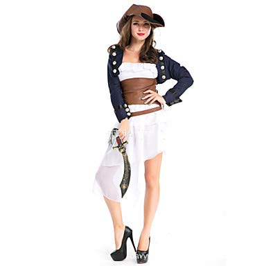 Die Britische Polizei Frau Kostüm - FGDJTYYJ Cosplay Kostüme Seeräuber Fest/Feiertage Halloween