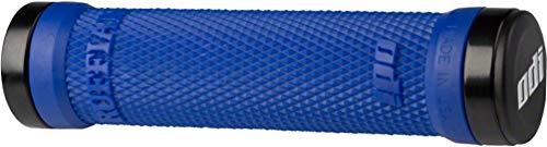 ODI Ruffian Lock-On Griffe + Klammern blau/schwarz (Odi-scooter Griffe Blau)