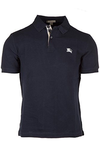 Burberry polo t-shirt maglia maniche corte uomo blu EU S (UK 36) 3459133 1