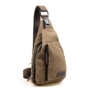 Wandern Rucksäcke, Taschen, Wander-Taschen, Outdoor-Taschen, wasserdicht Männer Brust Beutel, Männer Brust Tasche, Sporttasche, Canvas Tasche Black