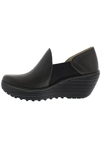 FLY London Yua, Ballerines femme marron foncé