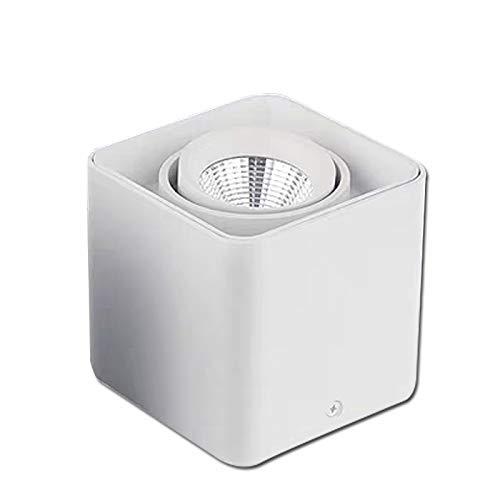 Foco Empotrable De LED Foco Guisante Montado A Presión Sin Borde Cabeza...