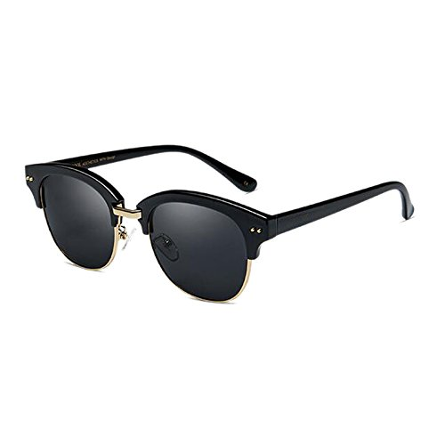Moolo HLMMM Sunglasses Sunglasses Female Polarizer Han Chao Retro Harajuku Wind UVA UVB Anti-glare UV400