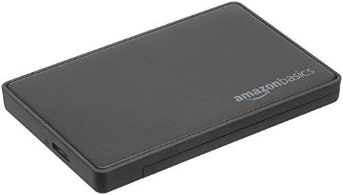 AmazonBasics - 6,35 cm SATA-Festplattengehäuse, USB 3.0 (Treiber Glatte)