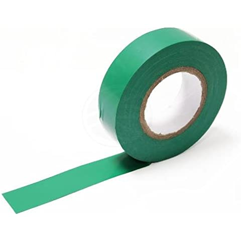 Cablematic - Nastro isolante verde 0,15x19mm in