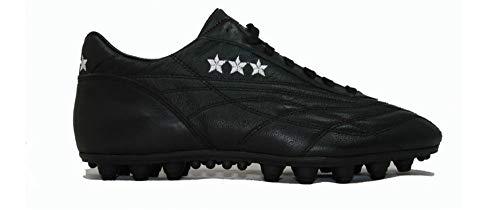 Scarpa Calcio Pantofola D'Oro New Star Vitello Artigianale Made in Italy n 38