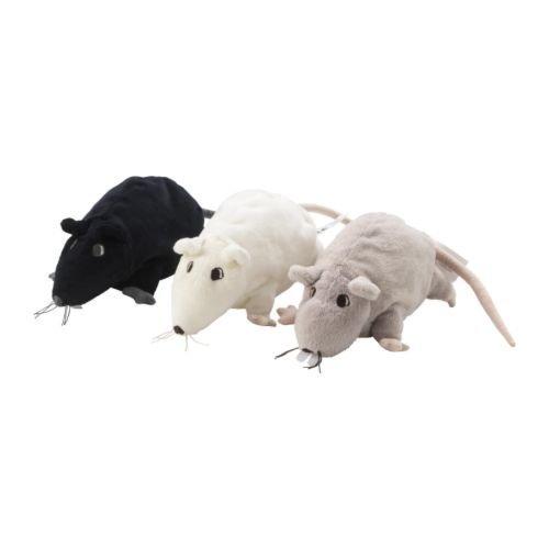IKEA GOSIG RATTA - Juguete suave, colores surtidos