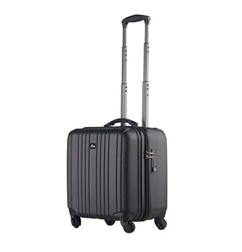 Lightpak 949763 - Trolley-Koffer ABS 4 Räder 2 en 1, schwarz