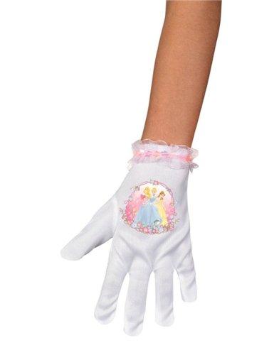 Disguise Costumes Disney Prinzessin Jasmine Belle Cinderella Ariel Herz Kostüm kurze Handschuhe